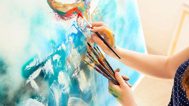 Hobi-melukis